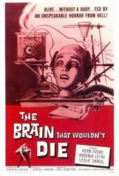 The Brain that Wouldn't Die Movie Poster Print (27 x 40) MOVCF4181