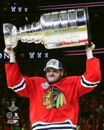 Daniel Carcillo with the Stanley Cup Game 6 of the 2015 NHL Stanley Cup Finals Photo Print PFSAASC21001
