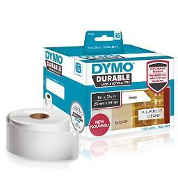 Dymo 1933081 dymo lw durable 1in x 3-1 2in white poly, 700 labels