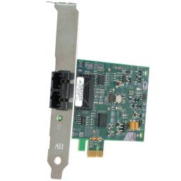 Allied telesis inc. at-2711fx/lc-901 32 bit 100mbps pci express fast ethernet fiber adapter card; lc connector; inclu