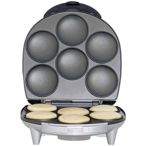 Brentwood appliances ar-136 arepa maker • Nonstick coating.• Easy-to-use cooking timer.• Indicator light.• Space-saving storage.• Safety lock.• 1,400W.Arepa Maker