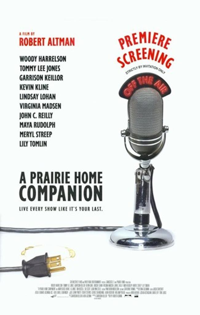 A Prairie Home Companion Movie Poster (11 x 17)