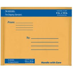 Lepages Inc 9in. x 12in. Kraft Manila USPS Padded Mailers  83071