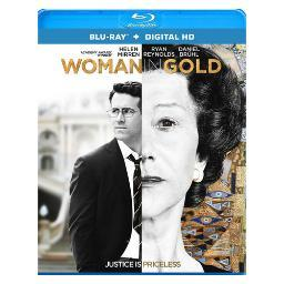 Woman in gold (blu-ray/ultraviolet) BR63023