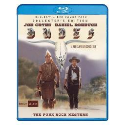 Dudes collectors edition (blu ray/dvd combo) (2discs/ws/1.78:1) BRSF17949