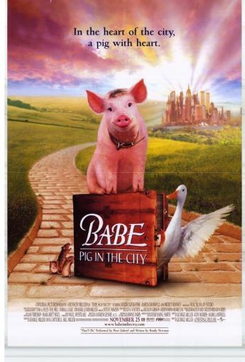 Babe: Pig in the City Movie Poster Print (27 x 40) PKUO3QRQCOST2EPX
