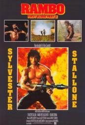 Rambo First Blood Part 2 Movie Poster (11 x 17) MOV401622