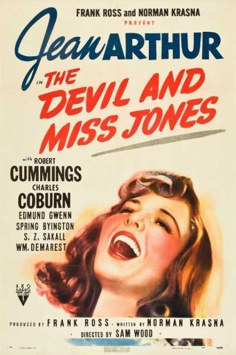Devil and Miss Jones, The Movie Poster Print (27 x 40) WYGH7XUHUSIEJMRZ