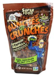 Bakery On Main Bunches of Crunches Granola - Dark Chocolate Sea Salt - Case of 6 - 11 oz.