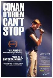 Conan O'Brien Can't Stop Movie Poster (11 x 17) MOVEB74104