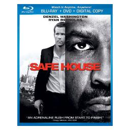 Safe house blu ray/dvd combo w/digital copy BR61120771