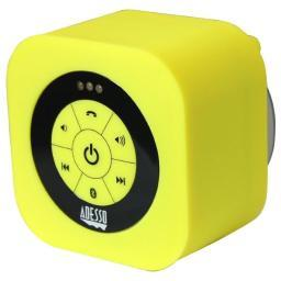 Adesso xtreams1y xtreams1y yellow  waterproof bluetooth speaker adesso xtreams1y portable waterpr