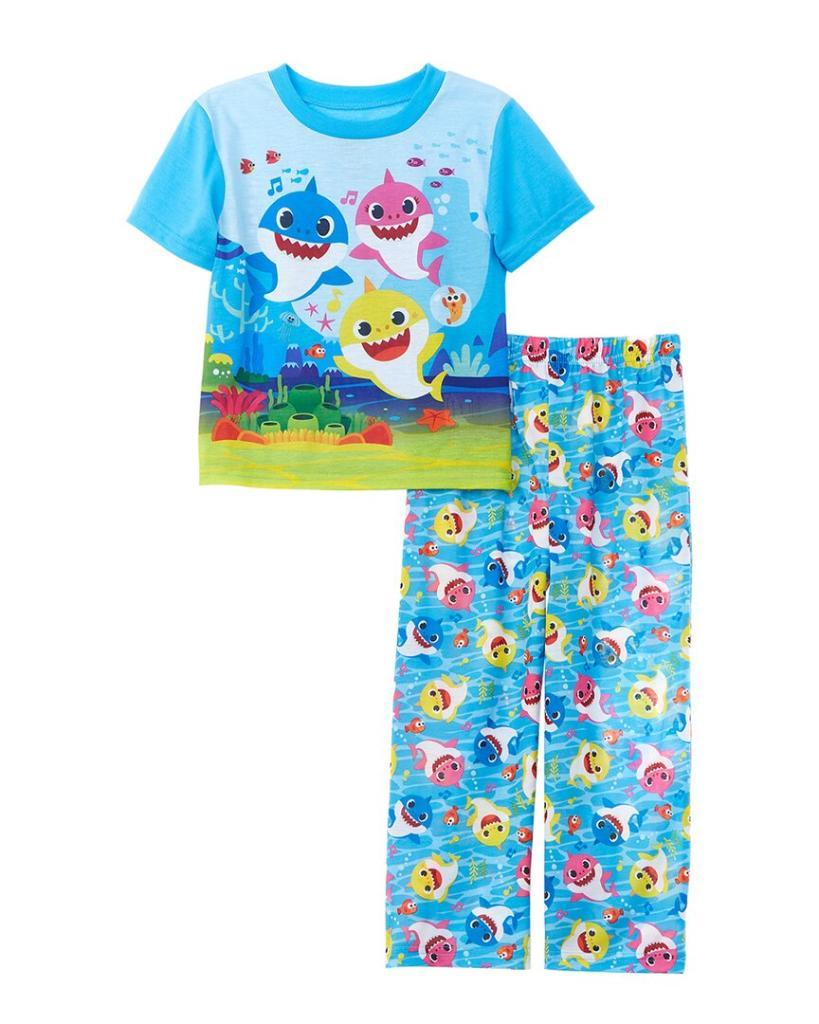 Pinkfog 2pc Baby Shark Pajama Set