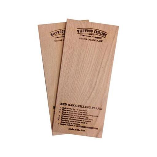 Outdoor Gourmet 90278 Wildwood Grilling Red Oak Wood Grilling Planks -