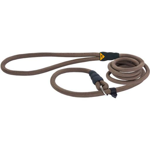 Browning p14120199 browning rope slip lead 6' brown nylon rope water resistn