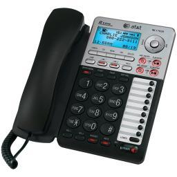 Att 17939 2-Line Corded Speakerphone With Caller Id & Digital Answering System