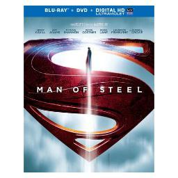 Man of steel (blu-ray/dvd combo/ws) BR296769