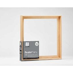 Ampersand art supply fthin151212m floater frame thin 1.5in maple 12x12