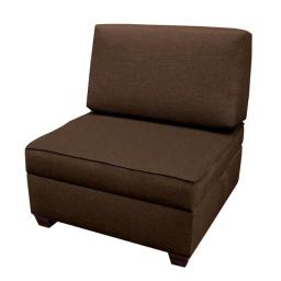 Duobed MFCH-ES 36 in. Chair Plus 1 BS Storage Ottomans - Espresso