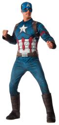 Capt America 3 Civil War Deluxe Adult Costume RU810967
