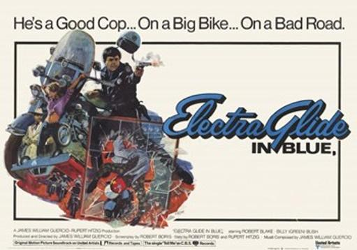 Electra Glide in Blue Movie Poster (17 x 11) JUQXWPGBV6F8PAN0