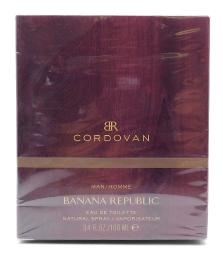 Banana Republic CORDOVAN Man Eau De Toilette 3.4 Fl Oz.