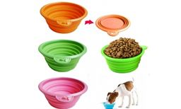 Premium Superb Hi Tech Portable Dog Bowls-Orange