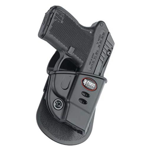 Fobus kt2g fobus holster e2 paddle for kel-tec p3at & ruger lcp