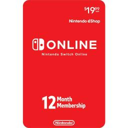 Nintendo Switch Online 12 Month Individual Membership - Digital Code