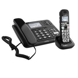 Clarity 53727 DECT 6.0 E814CC Amplified 40dB Cord/Cordless Combo Unit Phone