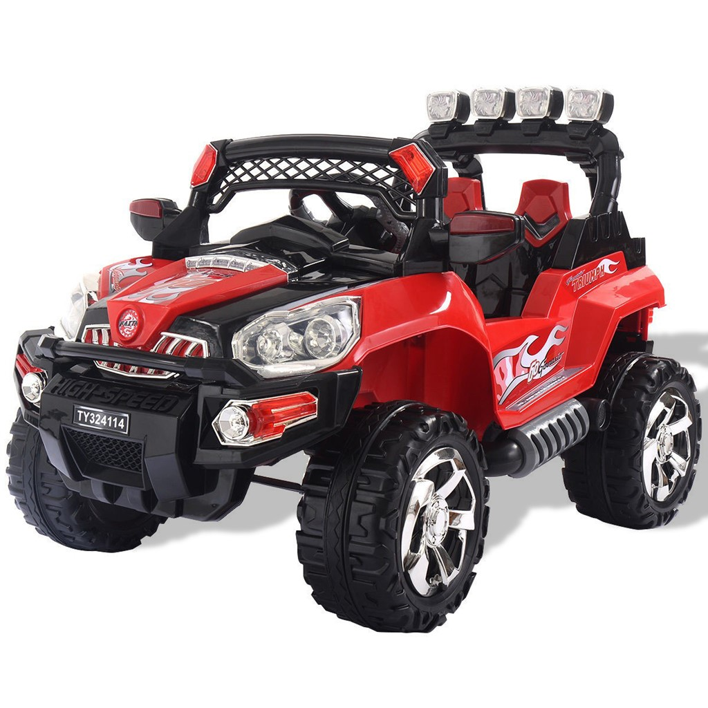 12V Kids Ride On Truck Car SUV RC Remote Control w/LED Lights