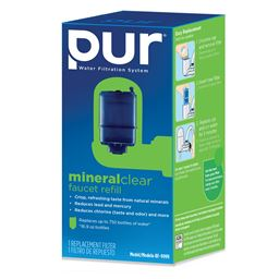 Rf-9999 Pur Mineral Clear Faucet Filter Replacement Cartridge (3-Stage)