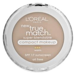 L'Oreal True Match Super-BlendMle Compact Makeup, Sand Beige [W5], 0.30 oz