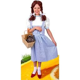 Charades Child's Wizard of Oz Dorothy Costume (Size: X-Large 12-14)