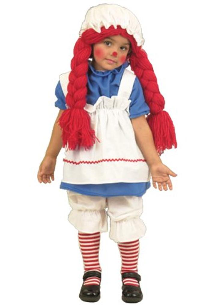 Big Girls' Little Rag Doll Costume - L
