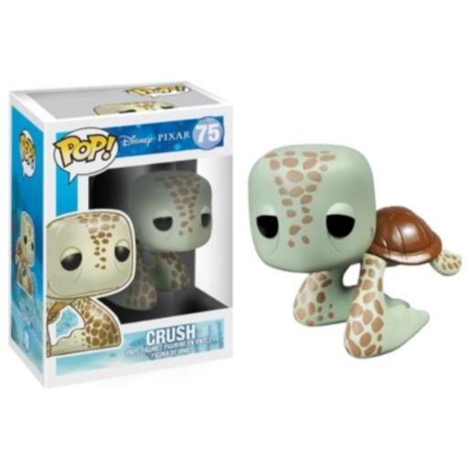 Funko Pop! Disney: Finding Nemo Crush Action Figure One of four figures in the Finding Nemo collection from Funko*Check out other Finding Nemo figures Dory, Nemo and Bruce!*Stands 3.75 Inch tall