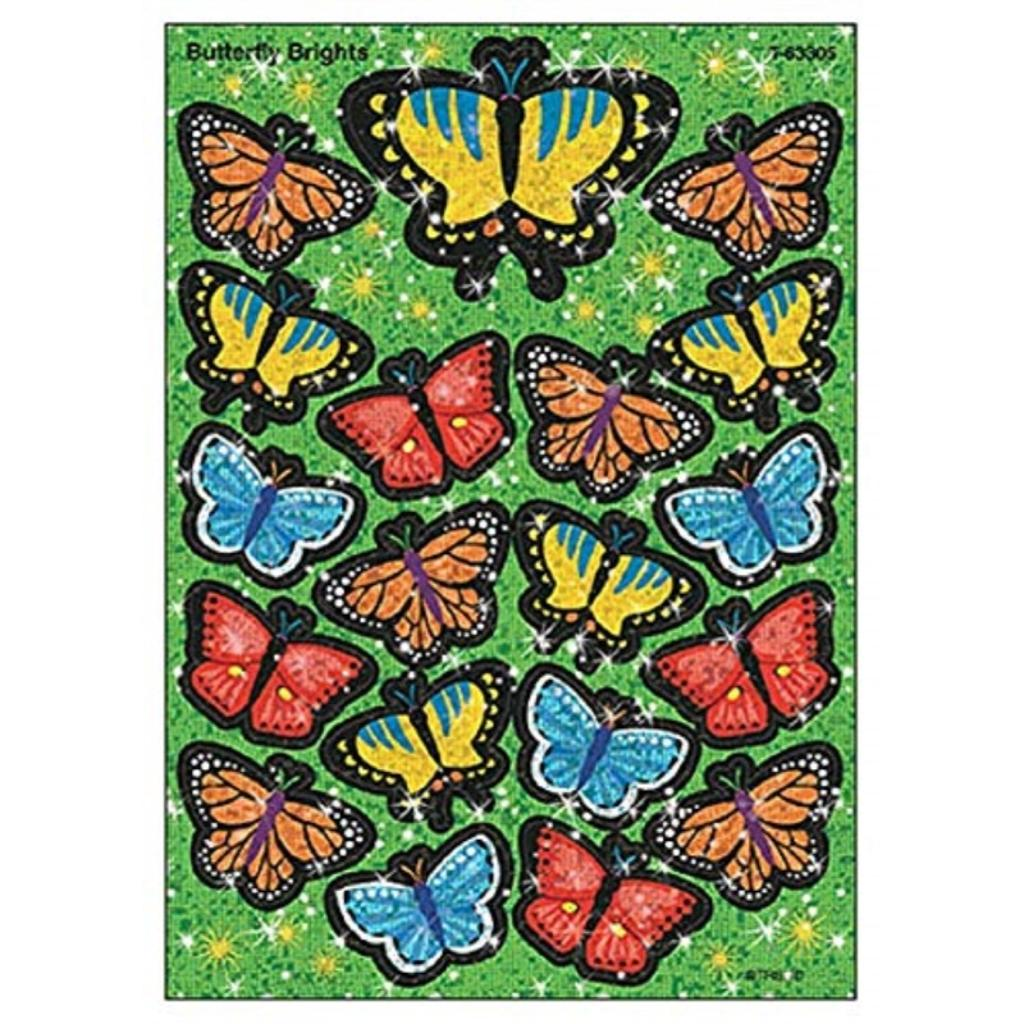 Butterfly Brights Stickers-Lg