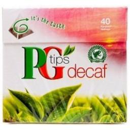 PG Tips Decaf 40 bags 3 Pack