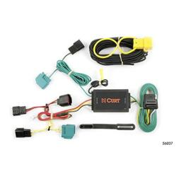 CURT 56037 Vehicle-Side Custom 4-Pin Trailer Wiring Harness for Select Dodge Journey