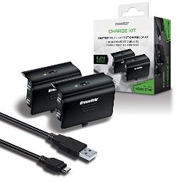 dreamGEAR Xbox One Charge Kit. Includes Charge Cable & 2 Rechargeable Batteries