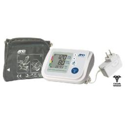 A&D Medical Premium Upper Arm Blood Pressure Monitor with Wide Range Cuff for Multiple Users (UA-767FAC)