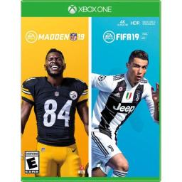 Fifa 19 and Madden 19 Xbox One Video Game