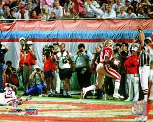 John Taylor Super Bowl XXIII 1989 Action Photo Print