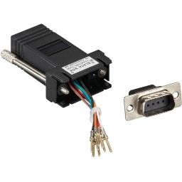 Black box fa4509m-bl db9 colored modular adapter (unassembled