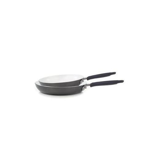 T-Fal/Wearever C944S274 Pure Living Fry Pan Combo Cham