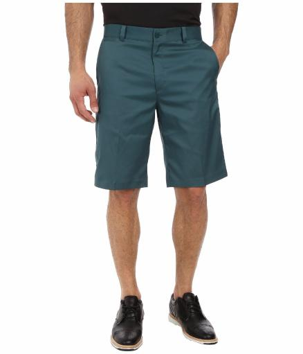 MENS NIKE GOLF TOUR SHORTS LAT FRONT DARK EMERALD GREEN (639798 374) SZ 34