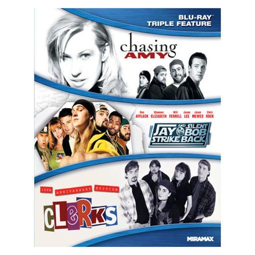 Kevin smith triple feature (blu ray)(chasing amy/clerks-15th/jay & silent b 1705694