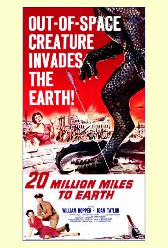 20 Million Miles to Earth Movie Poster Print (27 x 40) H6OSE99LPKKQZVIH