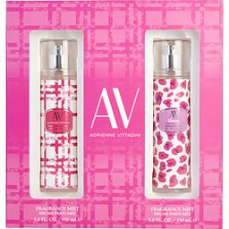 AV VARIETY by Adrienne Vittadini AV FRAGRANCE MIST & AV GLAMOUR FRAGRANCE MIST 2 x 5 OZ For WOMEN