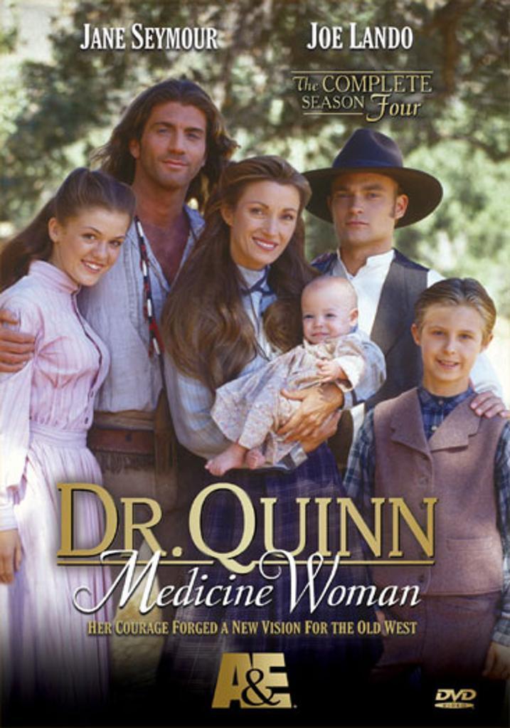 Dr quinn medicine woman-complete season 4 (dvd/8 disc) nla